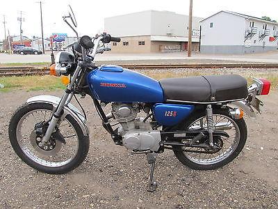 Honda : CB 1976 cb 125 s cb 125 honda only 2043 miles very nice