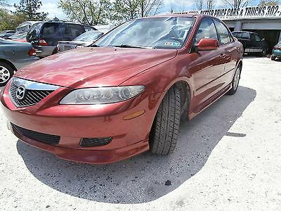 Mazda : Mazda6 2003 Mazda 6 S Sedan 4-Door 3.0L Sunroof Sporty 2003 mazda 6 s sedan 4 door 3.0 l sunroof sporty fast fun gas saver low reserve