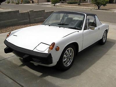 Porsche : 914 Standard 1973 porsche 914 1.7 with original fuel injection estate find