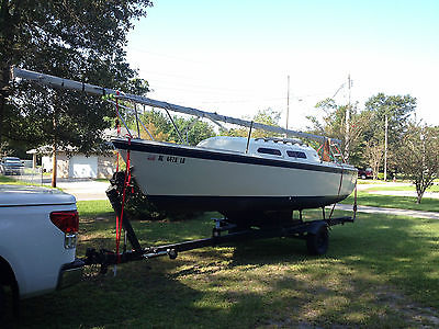 1981 O'Day 22 Sailboat