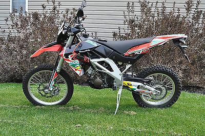Aprilia : RXV 550 2007 aprilia rxv 550 motorcycle rare only 210 miles