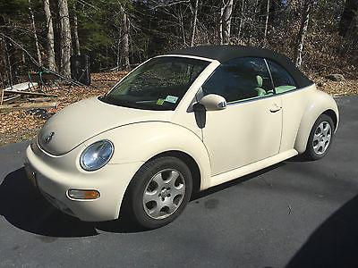Volkswagen : Beetle-New GLS Convertible VW New Beetle GLS 2.0 l Convertible