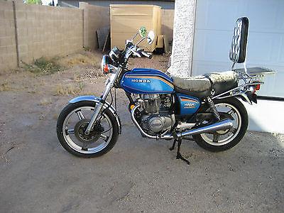 Honda : Super Hawk 1978 honda hawk 400 cc