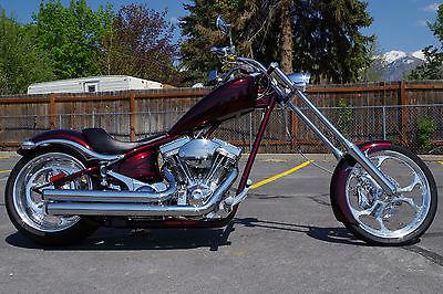 Big Dog : K9 2009 big dog k 9 k 9 custom softail chopper motorcycle 1 248 low miles flamed lr