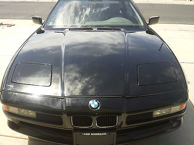 BMW : 8-Series 2 door 1992 bmw 850 i as new as it gets this is a 2 owner car both adults 54280 miles