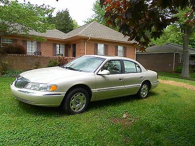 Lincoln : Continental Base Sedan 4-Door 1999 lincoln continental 4 door 4.6 l v 8 bad transmission