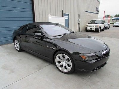 BMW : 6-Series 645Ci 2004 bmw 645 ci 6 speed manual convertible leather 04 e 64 cabriolet knoxville tn