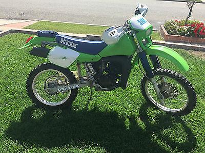 Kawasaki : KDX 1987 kawasaki kdx 200 2 stroke motorcycle