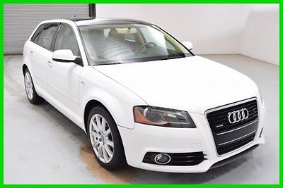 Audi : A3 2.0T Premium Hatchback Dual Sunroof Leather int FINANCING AVAILABLE!! 59k Mi Used 2012 Audi A3 AWD 4 Cyl Hatchback 17