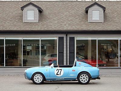 Alfa Romeo : Spider Race car 1956 alfa romeo giulietta spyder