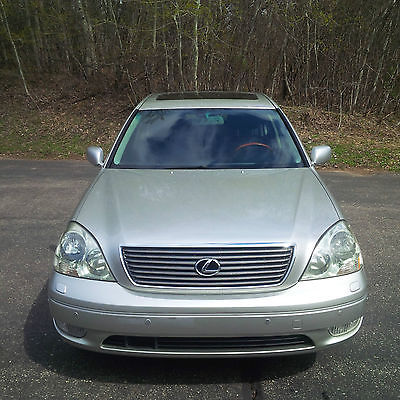 Lexus : LS LS430 Ultra Luxury 2001 lexus ls 430 ultra luxury package