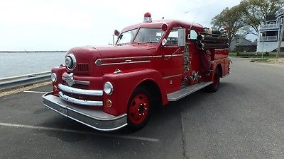1958 Seagrave 70th Anniversary Series Canopy Cab Sedan Bullet Nose Fire truck