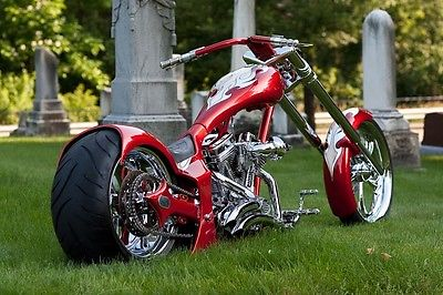 Custom Built Motorcycles : Chopper Base Model Drop Seat pro street, Custom Harley, NADA listed with Factory Title