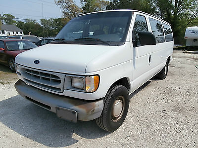 Ford : E-Series Van 1997 Ford E250 4.2L Club Wagon Passenger Van  1997 ford e 250 4.2 l club wagon passenger van church bus cold ac low reserve