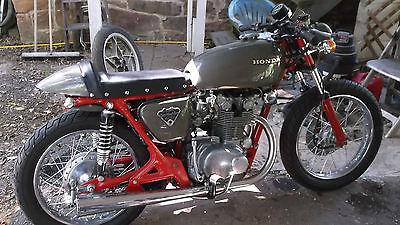 Honda : CB CB450, Honda, Cafe Racer, 1971, Gun Metal Grey