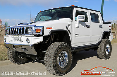 Hummer : H2 Base Crew Cab Pickup 4-Door 2008 h 2 hummer sut 6 in fabtec lift sedona interior only 800 miles wow