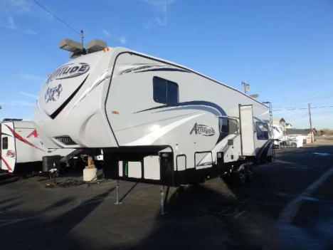 2016  Eclipse  ATTITUDE 28 SAG  1 SLIDE  CORIAN COUNTERTOPS  2 ELECTRIC BEDS  CAPTAIN CHAIRS  UPGRADED 160 WATT SOLAR PANEL  CEILING FAN