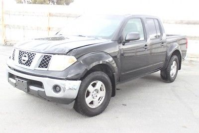 Nissan : Frontier 4WD SE  2007 nissan frontier 4 wd se repairable salvage wrecked damaged fixable project