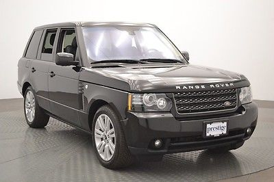 Land Rover : Range Rover HSE LUX 2012 land rover hse lux