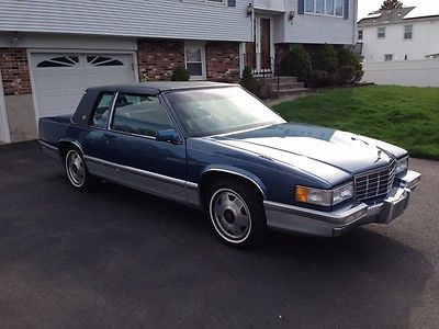 Cadillac : DeVille Base Coupe 2-Door 1992 cadillac deville base coupe 2 door 4.9 l spring edition