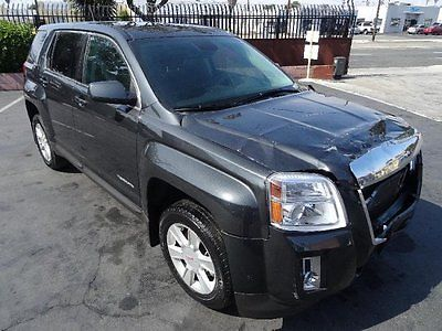 GMC : Terrain SLE 2013 gmc terrain sle repairable salvage wrecked damaged fixable project save