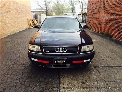 Audi : A8 4dr Sedan 4.2L Quattro AWD Automatic 4 dr sedan 4.2 l quattro awd automatic automatic gasoline 4.2 l 8 cyl blue
