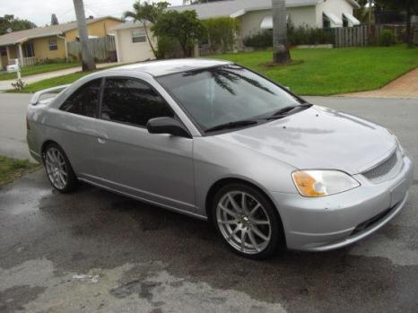 2002 Honda CivicSilver