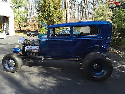 Ford : Model A 2 door 1929 ford model a custom hot rod with 4 in chop
