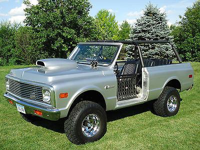 Chevrolet : Blazer K5 1972 chevy k 5 blazer 4 x 4 with 1967 302 camaro motor
