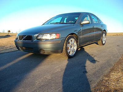 Volvo : S60 AWD 2.4T 47K MILES 2002 volvo s 60 awd 47 k miles original owner like new all wheel drive 2.4 t