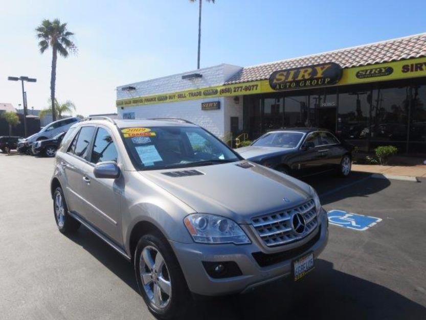 Mercedes benz ml350 cars for sale for 2009 mercedes benz ml350 4matic for sale