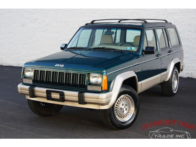 Jeep : Cherokee 4dr Country 1996 jeep cherokee country 4 wd suv 4.0 l i 6 suv automatic low miles extra clean