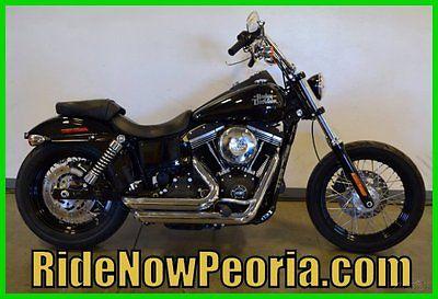 Harley-Davidson : Dyna 2014 harley davidson dyna fxdb street bob vance hines used