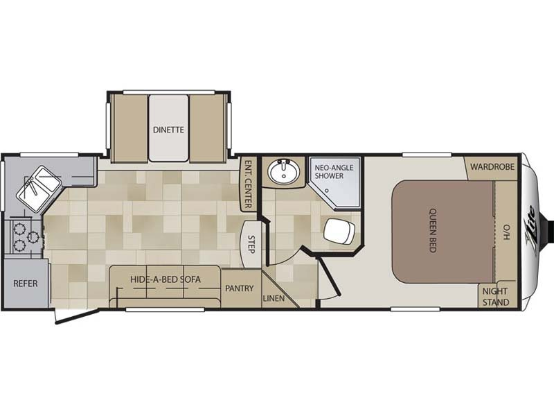 2014  Cougar X-Lite  25RKS