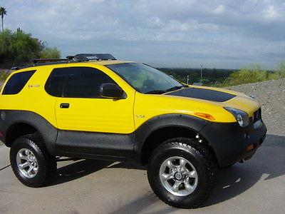 Isuzu : VehiCROSS Torque on DEMAND 2001 isuzu vehicross showroom rust free proton yellow