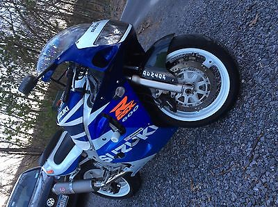 Suzuki : GSX-R 1998 clean suzuki gsxr 600 srad edition modified