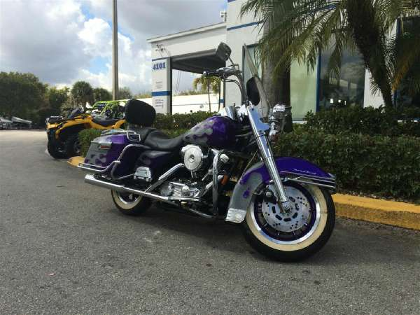 Harley Road King Motorcycles Sale Hollywood Florida 1997 Davidson Pictures
