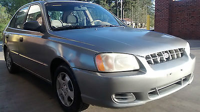 Hyundai : Accent GL 2001 hyundai accent gl sedan 4 door 1.6 l