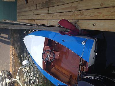 Clark Craft Airborne 11 Hal Kelly Design Racing Runabout Utility Hydroplane
