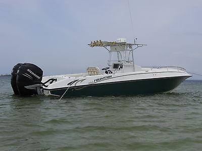 1999 31' Fountain Center Console Fishing Boat w/(2) 275 Mercury Verado