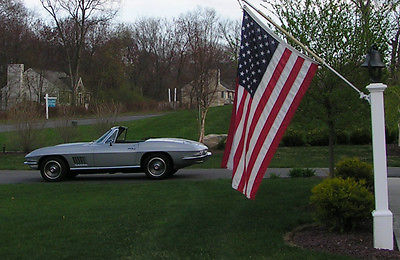 Chevrolet : Corvette good 1967 sb convertible 4 spd