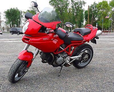 Ducati : Multistrada 2004 ducati multistrada 1000 ds runs great new battery red funn l k