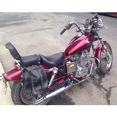 Superior Honda : Rebel 1987 Honda Rebel 250 Cc Red Vintage Motorcycle Low Miles  Beginner Or Girl