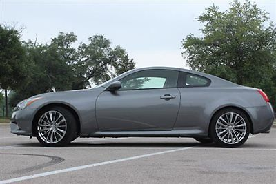 Infiniti : G37 2dr Sport 6MT RWD 2 dr sport 6 mt rwd low miles coupe automatic gasoline 3.7 l v 6 cyl graphite shadow