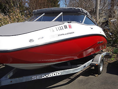 2012 Sea-Doo Challenger 180 SE- jet boat- With warranty and trailer-LOW HOURS