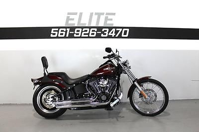 Harley-Davidson : Softail 2008 harley night train fxstb video 199 a month exhaust 103 motor super fast