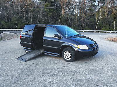 Dodge : Grand Caravan SE Mini Passenger Van 4-Door 2007 dodge grand caravan handicap wheelchair companion van