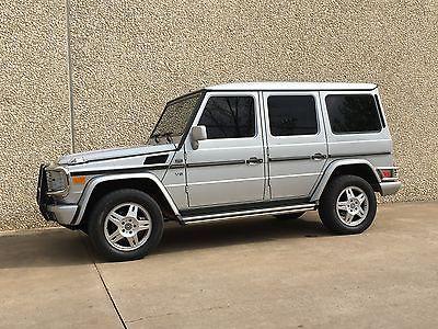 Mercedes-Benz : G-Class G500 2002 mercedes benz g 500 base sport utility 4 door 5.0 l g wagon