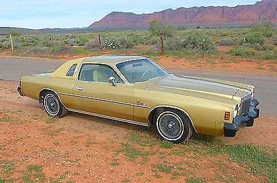 Chrysler : Cordoba Base Hardtop 2-Door 1976 chrysler cordoba base hardtop 2 door 6.6 l