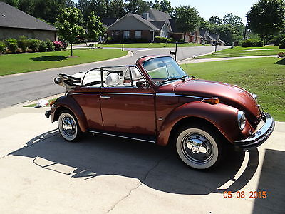 Volkswagen : Beetle - Classic Super Beetle 1978 super beetle classic convertible fully restored